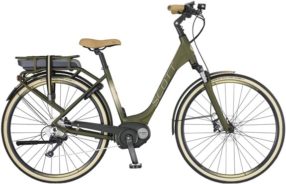 Image of Scott E-Sub Active Unisex 2017 Electric Bike