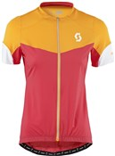 Image of Scott Endurance Full Zip Short Sleeve Womens Cycling Jersey