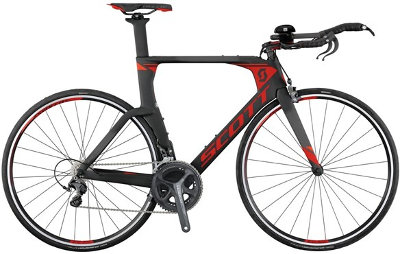 Image of Scott Plasma 10 2017 Triathlon Bike