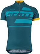 Image of Scott RC Team Short Sleeve Junior Cycling Shirt / Jersey