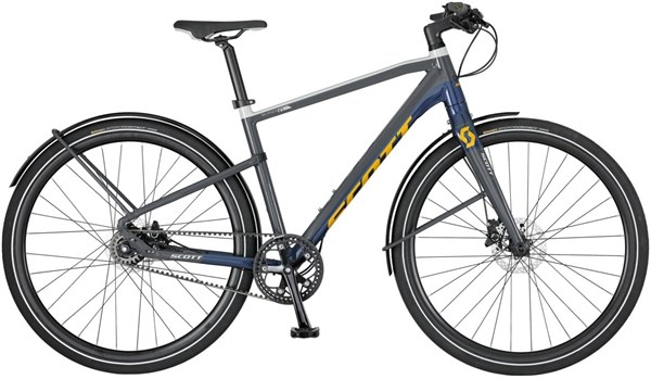 Image of Scott Silence Speed 10 2017 Hybrid Bike