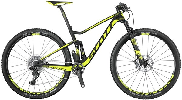 Image of Scott Spark RC 700 World Cup 27.5 2017 Mountain Bike