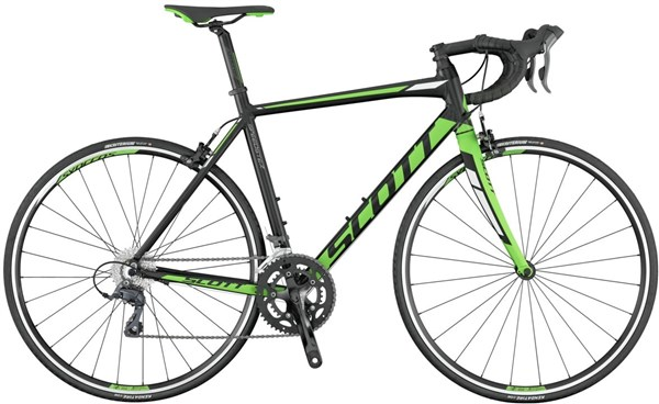 Image of Scott Speedster 40 Compact 2017 Road Bike