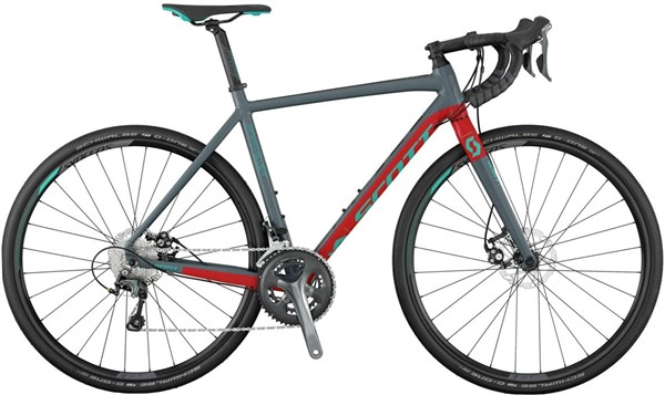 Image of Scott Speedster Gravel 20 Disc 2017 Road Bike