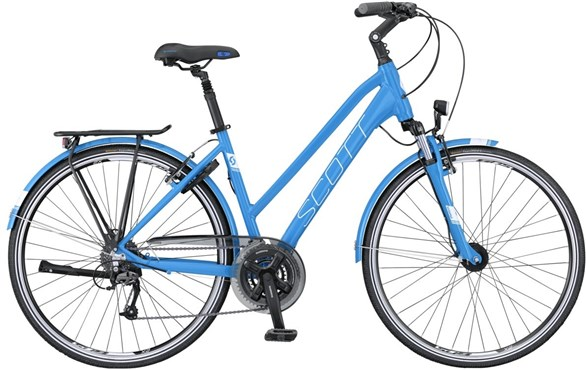 Image of Scott Sub Comfort 10 Womens  2016 Hybrid Bike