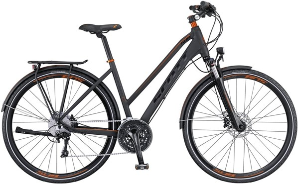 Image of Scott Sub Sport 10 Womens  2016 Hybrid Bike
