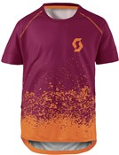 Image of Scott Trail 60 Short Sleeve Junior Cycling Shirt / Jersey