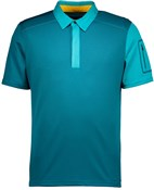 Image of Scott Trail MTN 30 Short Sleeve Cycling Polo Shirt