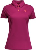 Image of Scott Trail MTN 30 Short Sleeve Womens Cycling Polo Shirt