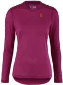Image of Scott Trail MTN Aero Long Sleeve Womens Cycling Shirt / Jersey