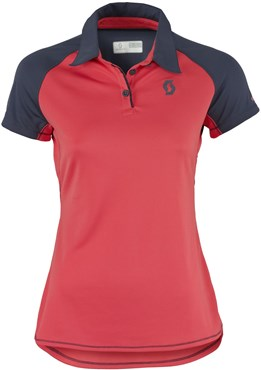 Image of Scott Trail MTN Short Sleeve Womens Cycling Polo Shirt
