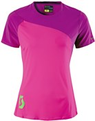 Image of Scott Trail Tech 10 Womens Short Sleeve Cycling Jersey