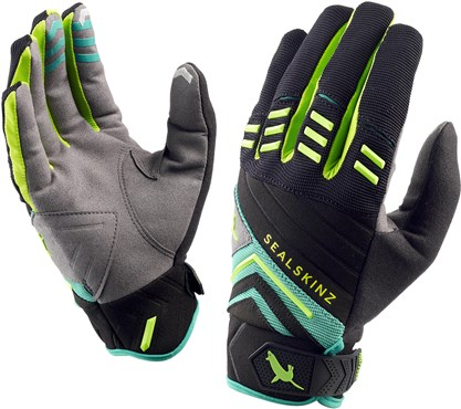 Image of SealSkinz Dragon Eye Trail Long Finger Cycling Gloves AW16
