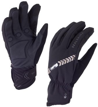 Image of SealSkinz Halo All Weather Long Finger Cycling Gloves AW16