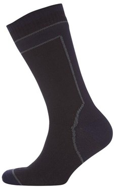 Image of SealSkinz HydroStop Mid Weight Mid Length Socks