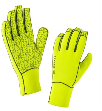 Image of SealSkinz Neoprene Long Finger Cycling Gloves AW16