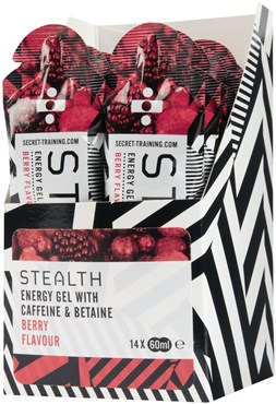Image of Secret Training Stealth Energy Gel with Caffeine and Betaine - 60ml x Box 14