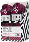 Image of Secret Training Stealth Energy Gel with Real Fruit - 60ml x Box of 14