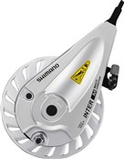 Image of Shimano BR-IM55 Front Roller Brake - With M9 x 3.5 mm And M10 x 4 mm Lock Nut