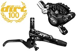 Image of Shimano BR-M8000 XT Bled I-spec-II Compatible Brake Lever and Calliper - Post Mount