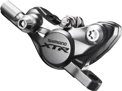 Image of Shimano BR-M9000 XTR Post type hydraulic disc brake calliper, front or rear