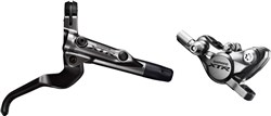 Image of Shimano BR-M9000 XTR bled I-spec-II ready brake lever / Post mount calliper - front