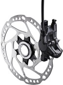 Image of Shimano Deore Disc Brake Calliper - Without Adapter for Front or Rear BRM615