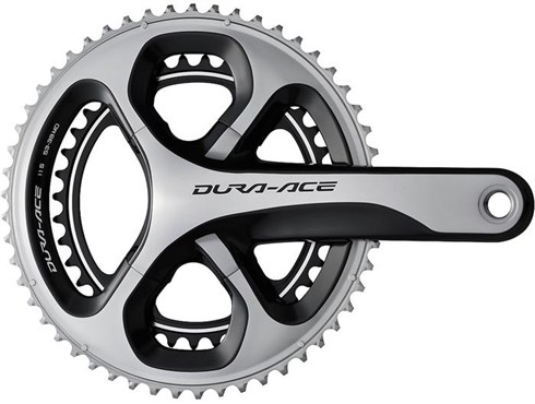 Image of Shimano Dura-Ace Double Chainset HollowTech II FC-9000