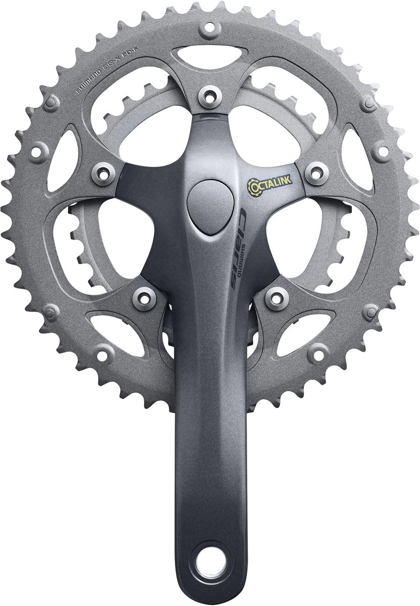Shimano FC-2450 Claris Octalink Compact 8 Speed Chainset