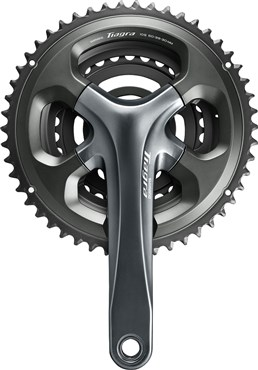 Image of Shimano FC-4703 Tiagra triple chainset 10-speed