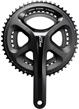 Image of Shimano FC-5800 105 Double HollowTech II Road Chainset