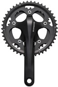 Image of Shimano FC-CX50 Cyclocross 10-speed 2-Piece Design Chainset