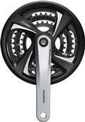 Image of Shimano FC-TX801 Tourney Triple Chainset