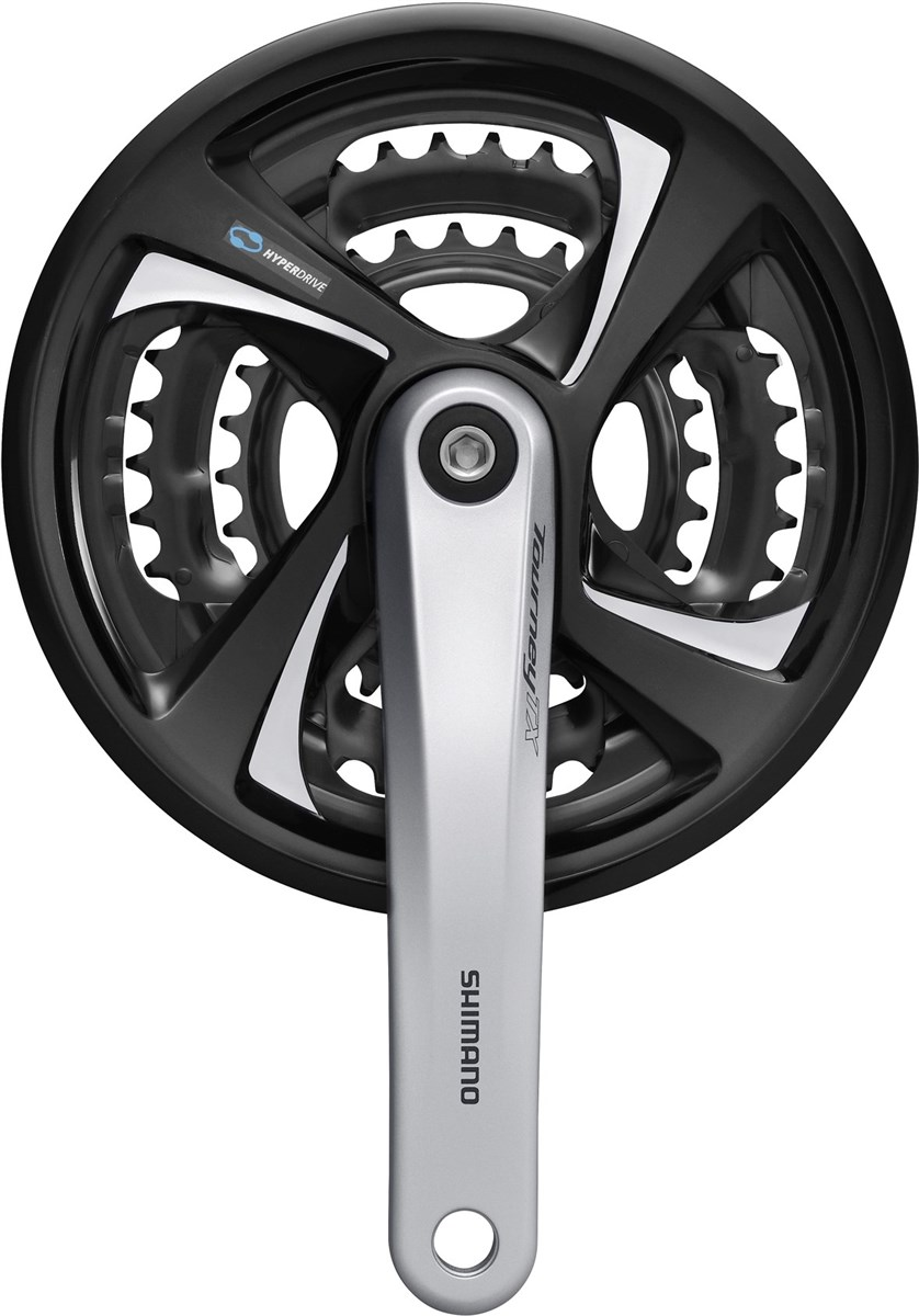Shimano FC-TX801 Tourney Triple Chainset Without Chainguard