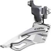 Image of Shimano FD-2403 Claris 8-Speed Front Derailleur - Triple Braze-On