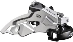 Image of Shimano FD-M370 Altus 9 Speed Front Derailleur Top Swing Dual Pull