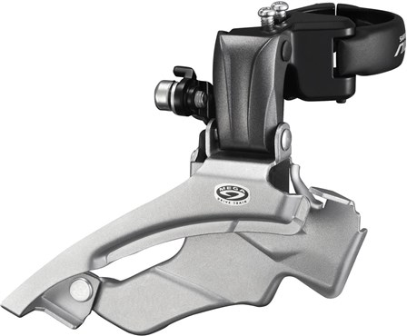 Image of Shimano FD-M371 Altus 9-Speed Front Derailleur - Conventional Swing - Dual Pull