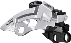 Image of Shimano FD-M610 Deore 10-Speed Triple Front Derailleur - Dual-Pull - E-Type