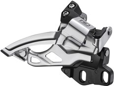 Image of Shimano FD-M615-E2 Deore 10-Speed Double Front Derailleur - Dual-Pull - E-Type
