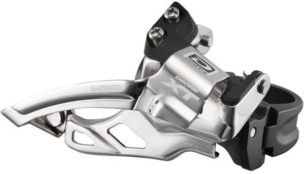 Image of Shimano FD-M785 XT 10-speed Double Clamp-On Front Derailleur