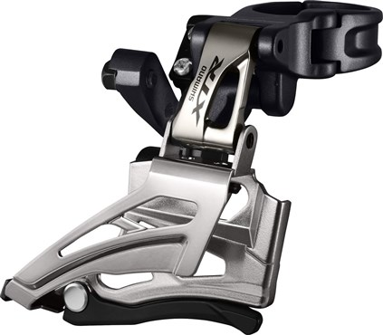 Image of Shimano FD-M9025-H XTR Double Front Derailleur - Conventional Swing - Dual Pull