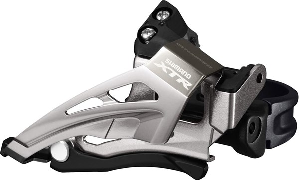 Image of Shimano FD-M9025-L XTR Double Front Derailleur - Top Swing - Down Pull - Multi Fit