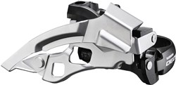 Shimano FD-T610 Deore Front Derailleur - Top-Swing - Dual-Pull - Multi Fit - 63-66 Deg