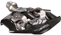 Image of Shimano PD-M8020 XT MTB SPD Trail Pedals - Two Sided Mechanism