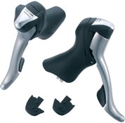 Image of Shimano R701 10 Speed Double Road STI Levers With Adjustable Reach