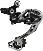 Image of Shimano RD-M610 Deore 10-speed Shadow Design Rear Derailleur - SGS - Black