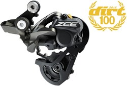 Image of Shimano RD-M640 Zee 10 Speed Shadow Rear Derailleur
