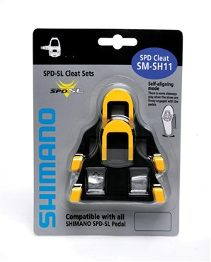 Image of Shimano SH11 SPD-SL Cleat with 6 Degree Float