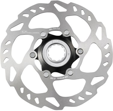 Image of Shimano SLX Ice Tech Centre-Lock Disc Rotor SMRT68
