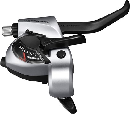 Image of Shimano ST-TX800 Tourney TX STI lever - 8-Speed